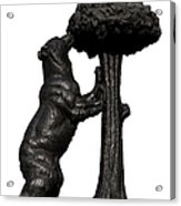 Bear And The Madrono Tree Acrylic Print by Fabrizio Troiani