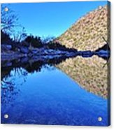 Bear Canyon Pool Acrylic Print