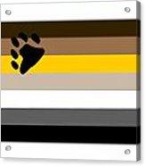 Bear Flag Acrylic Print