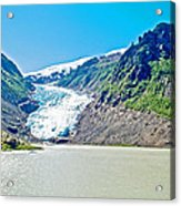 Bear Glacier Near Stewart-british Columbia  Acrylic Print