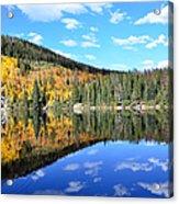 Bear Lake Reflection Acrylic Print by Tranquil Light  Photography