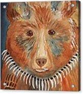 Bear Medicine Acrylic Print by Ellen Levinson