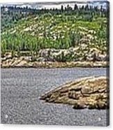 Bear River Creek Reservoir Acrylic Print
