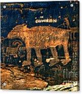 Bear Wall Acrylic Print