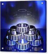 Bearings In Blue Acrylic Print