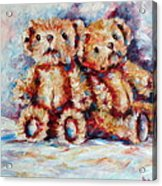 Bears Acrylic Print