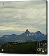 Beartooth Mountain Montana Acrylic Print
