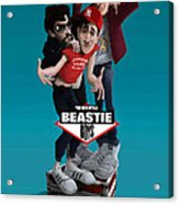 Beatie Boys_the New Style 2 Acrylic Print by Nelson Dedos Garcia