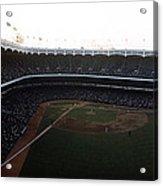 Beautiful Right Field View Of Old Yankee Stadium Acrylic Print