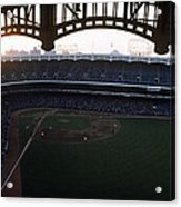 Beatiful View Of Old Yankee Stadium Acrylic Print by Retro Images Archive