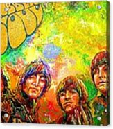 Beatles Rubber Soul Acrylic Print