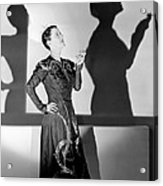 Beatrice Lillie, 1938 Acrylic Print