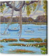 Beaufort Anchorage Acrylic Print