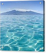 Beauitful Seascape Of Moorea Acrylic Print