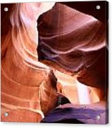 Beautiful Antelope Canyon Colors Acrylic Print