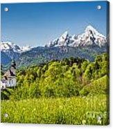 Beautiful Bavaria Acrylic Print