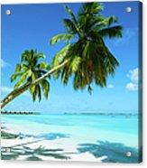 Beautiful Beach Resort Acrylic Print