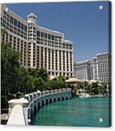 Beautiful Bellagio Hotel- Vegas Acrylic Print