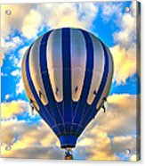 Beautiful Blue Hot Air Balloon Acrylic Print