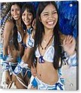 Beautiful Women Of Brazil 2 Acrylic Print