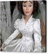 Beautiful Bride Acrylic Print