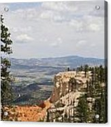 Beautiful Bryce Canyon Acrylic Print