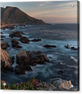 Beautiful California Coast In Spring Acrylic Print
