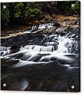 Beautiful Cascade In Western Ghats In Karnataka India Acrylic Print