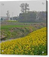 Beautiful China's Rural Scenery Acrylic Print