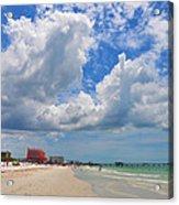 Beautiful Clearwater Beach Acrylic Print