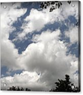 Beautiful Clouds Roll By Acrylic Print