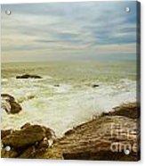 Beautiful Coastal Landscape Acrylic Print
