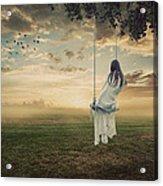 Beautiful Dawn Acrylic Print