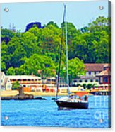 Beautiful Day For Sailing Acrylic Print