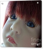 Beautiful Doll Acrylic Print by Renee Trenholm