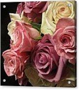 Beautiful Dramatic Roses Acrylic Print