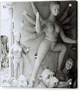 Surreal Kolkata Acrylic Print