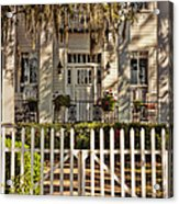 Beautiful Entryway On The Isle Of Hope Acrylic Print