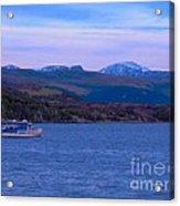 Beautiful Evening At Ullapool Acrylic Print