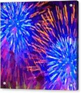 Beautiful Fireworks 10 Acrylic Print