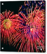 Beautiful Fireworks 14 Acrylic Print
