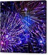 Beautiful Fireworks  3 Acrylic Print