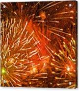 Beautiful Fireworks 4 Acrylic Print