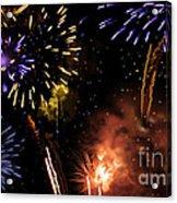 Beautiful Fireworks 5 Acrylic Print
