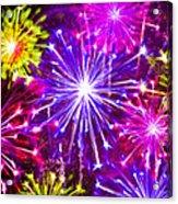 Beautiful Fireworks  6 Acrylic Print
