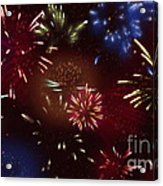Beautiful Fireworks 9 Acrylic Print