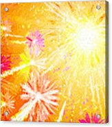 Beautiful Fireworks Acrylic Print