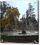 Beautiful Fountain In Lal Bagh Acrylic Print