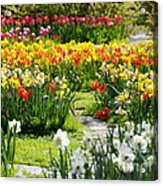 Beautiful Garden Acrylic Print