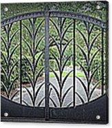 Beautiful Gate Acrylic Print